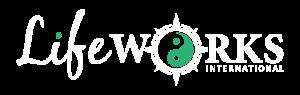 LifeWorks International Logo White